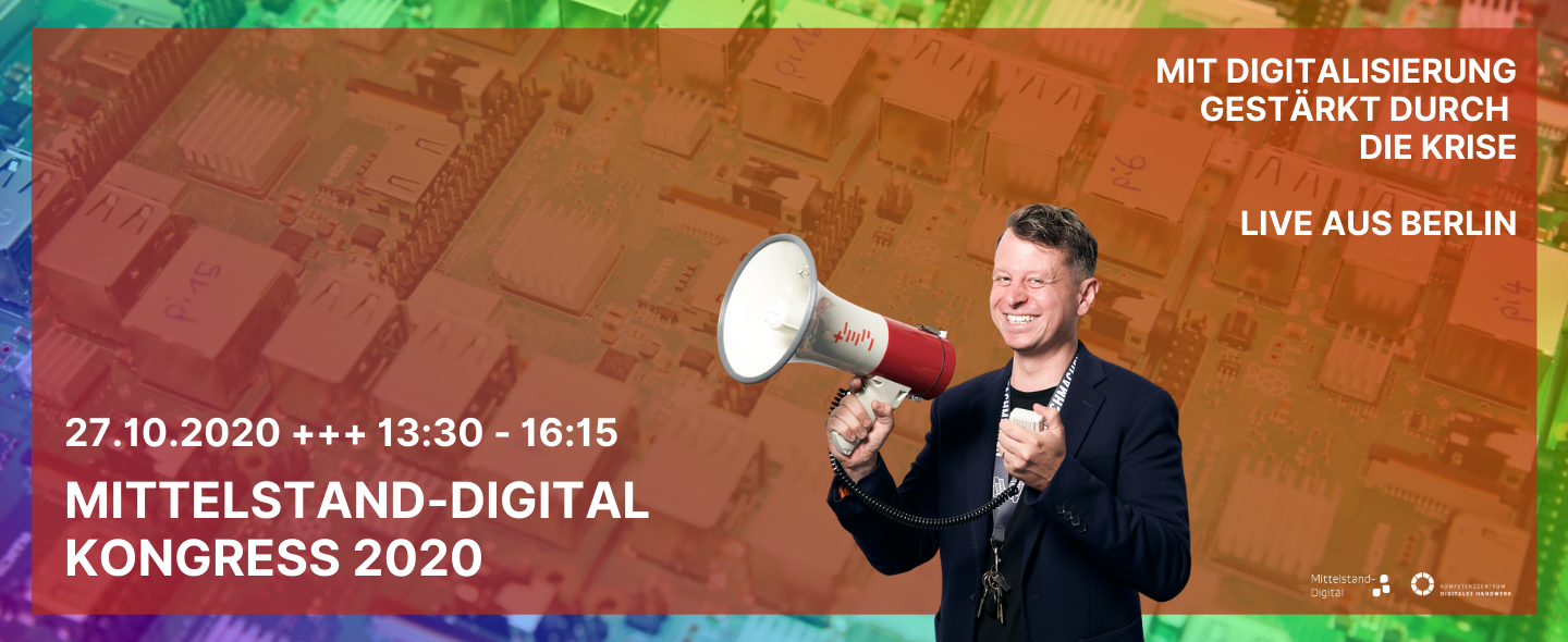 Mittelstand-Digital Kongress 2020 als Live-Stream